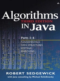 Algorithms in Java, Parts 1-5