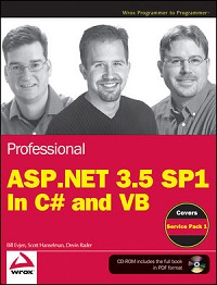 Professional ASP.NET 0.5 SP1 Edition: In C# and VB