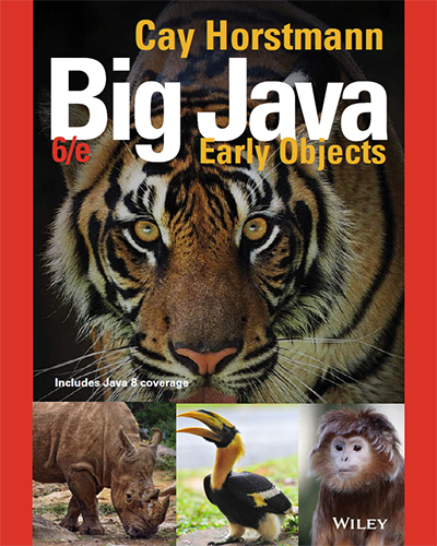 Big Java Early Objects