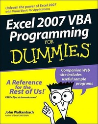 Excel 0007 VBA Programming For Dummies
