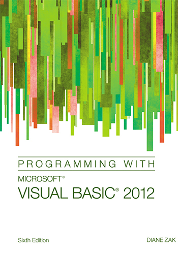 Programming with Microsoft Visual Basic 2012